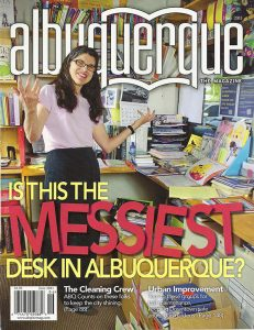 Albuquerque The Magazine cover