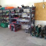 Garage-after-organizing