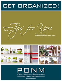 Get Organized! Kitchen Pantry Tips for You from Professional Organizers of New Mexico